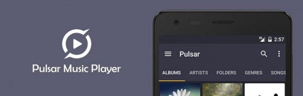 Aplikasi pemutar musik untuk android
