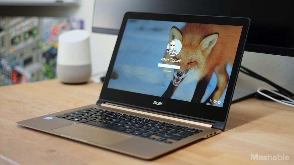 Laptop acer tipis terbaik Acer Swift 7