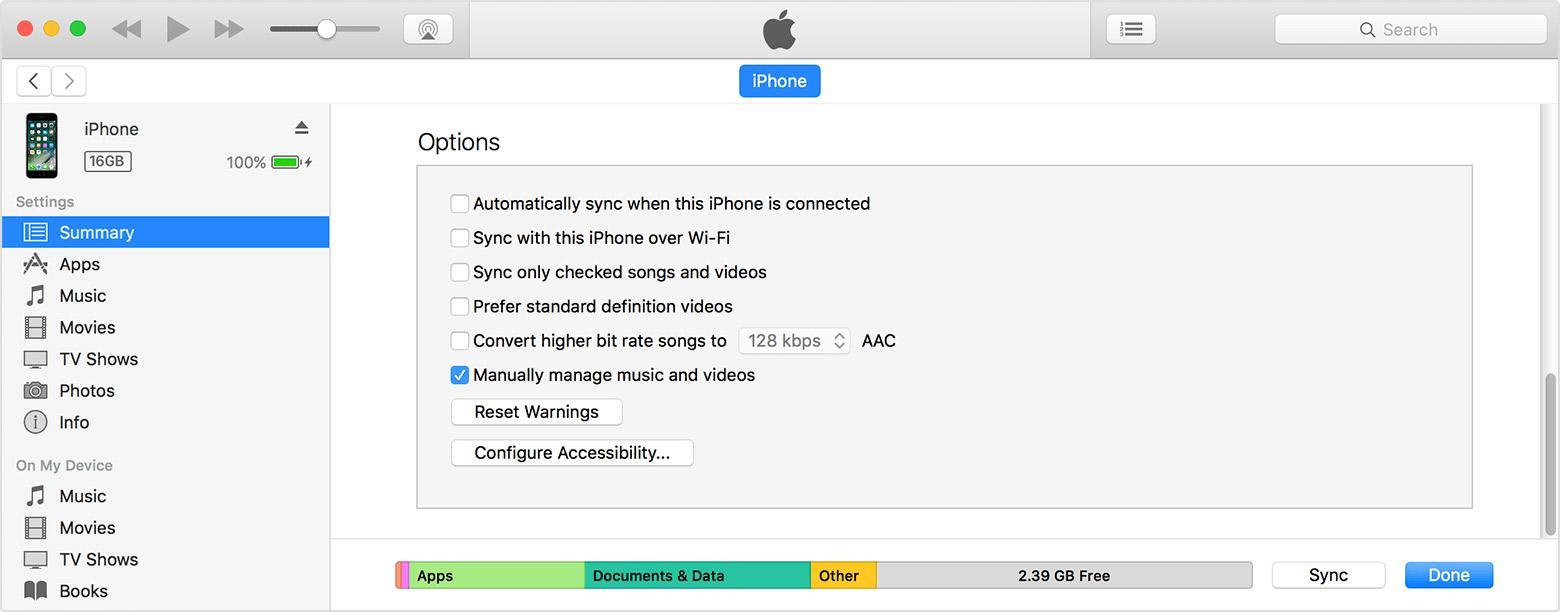 Sambung iPhone ke iTunes