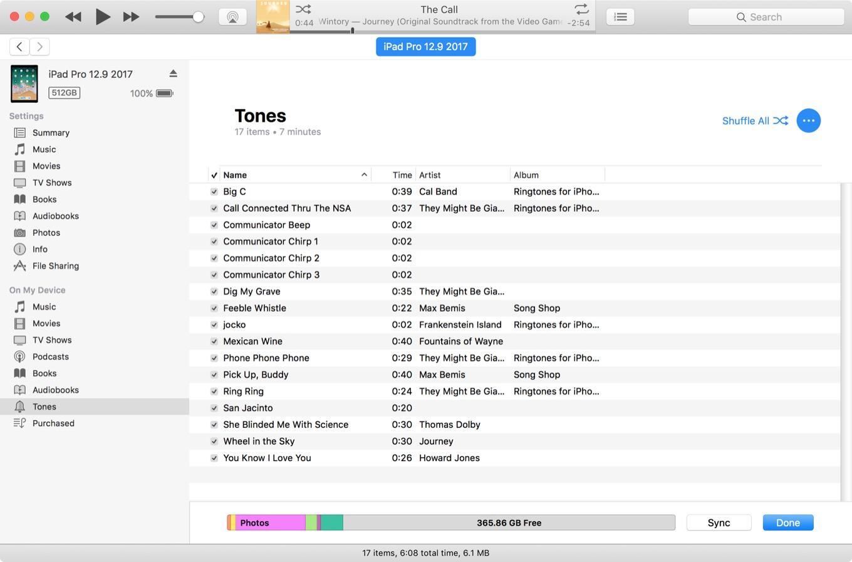 Salin musik dari komputer ke iTunes