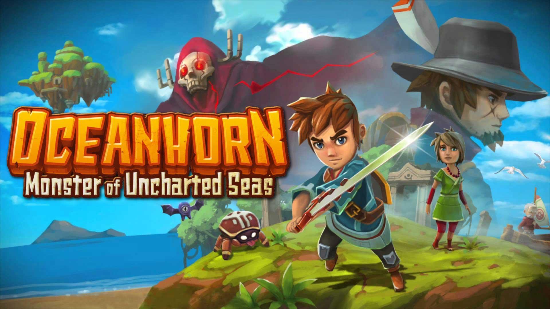 Game petualangan di iphone oceanhorn 2019