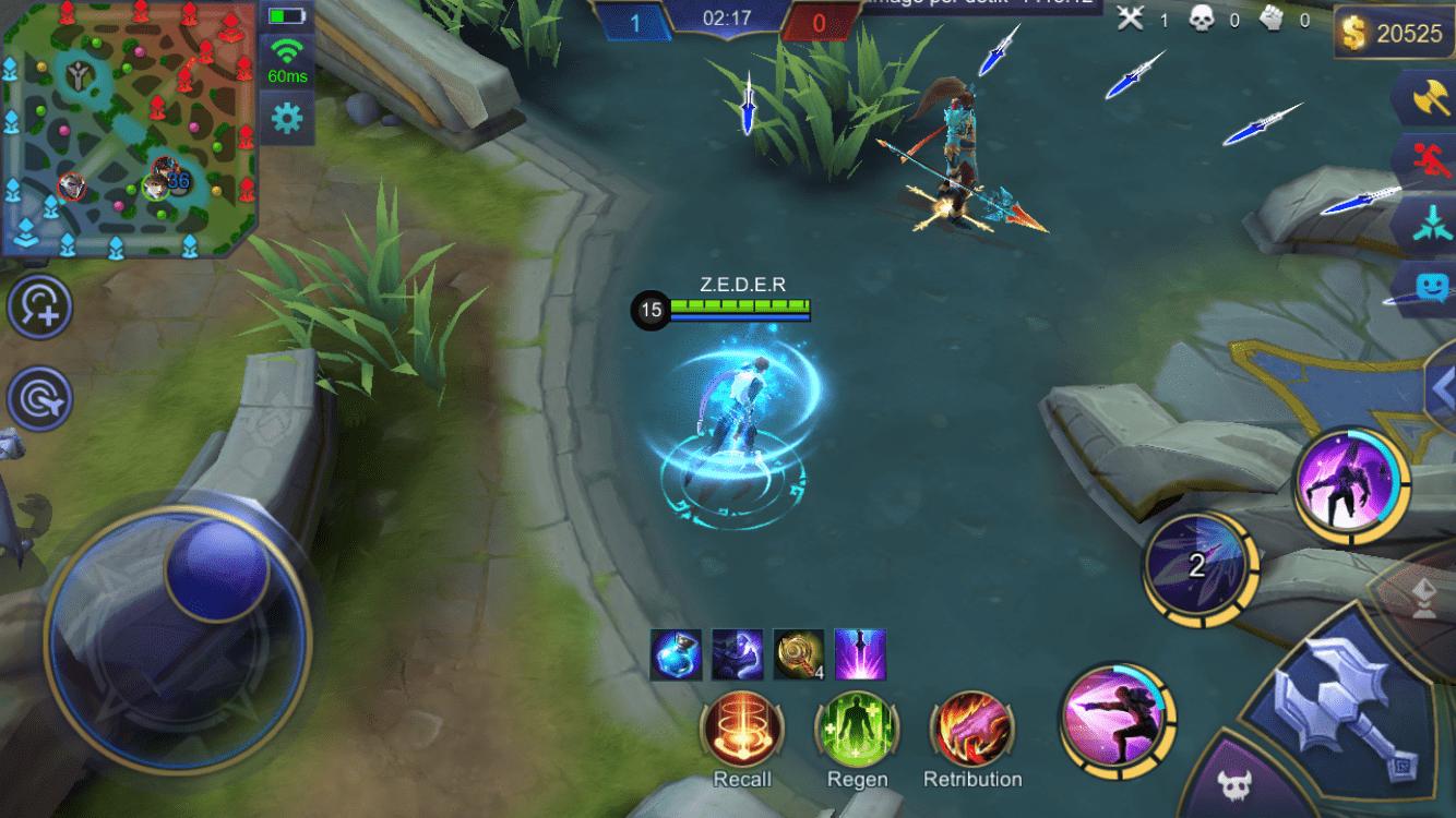 Trik menggunakan hero Gusion Mobile Legends