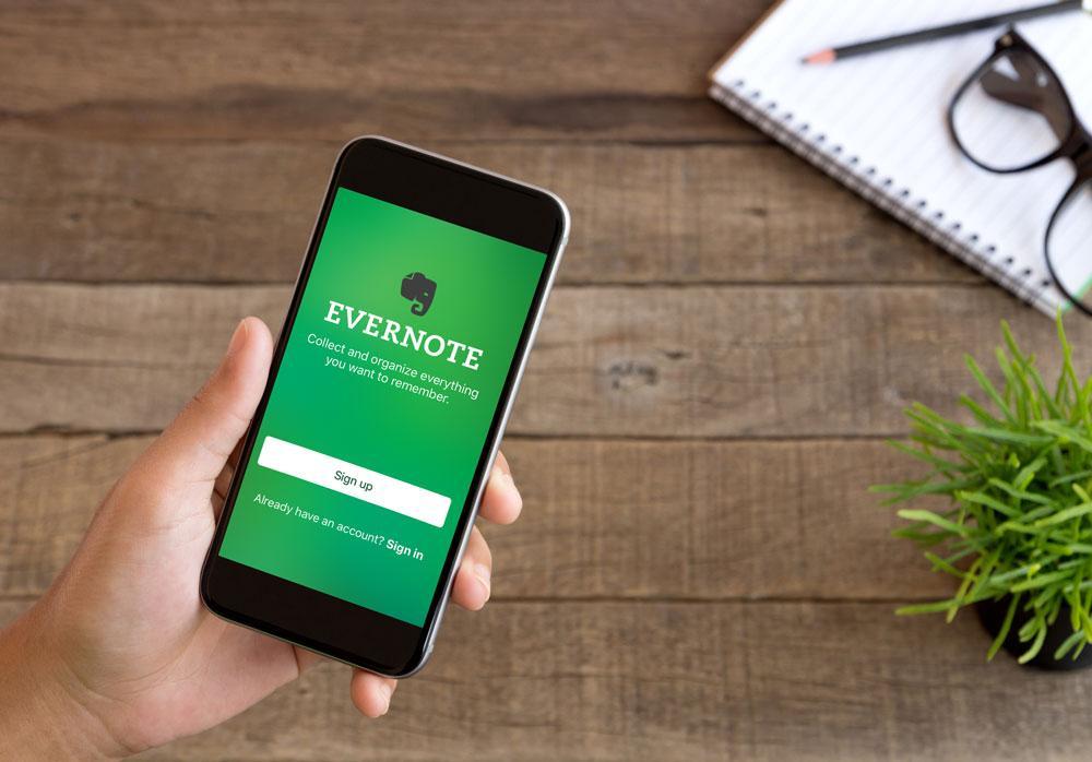 Aplikasi Evernote untuk bisnis online