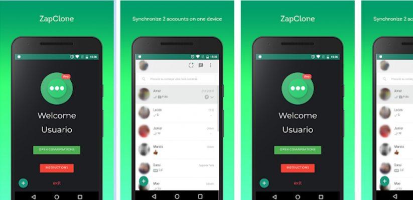CloneZap Apk untuk Hp Android
