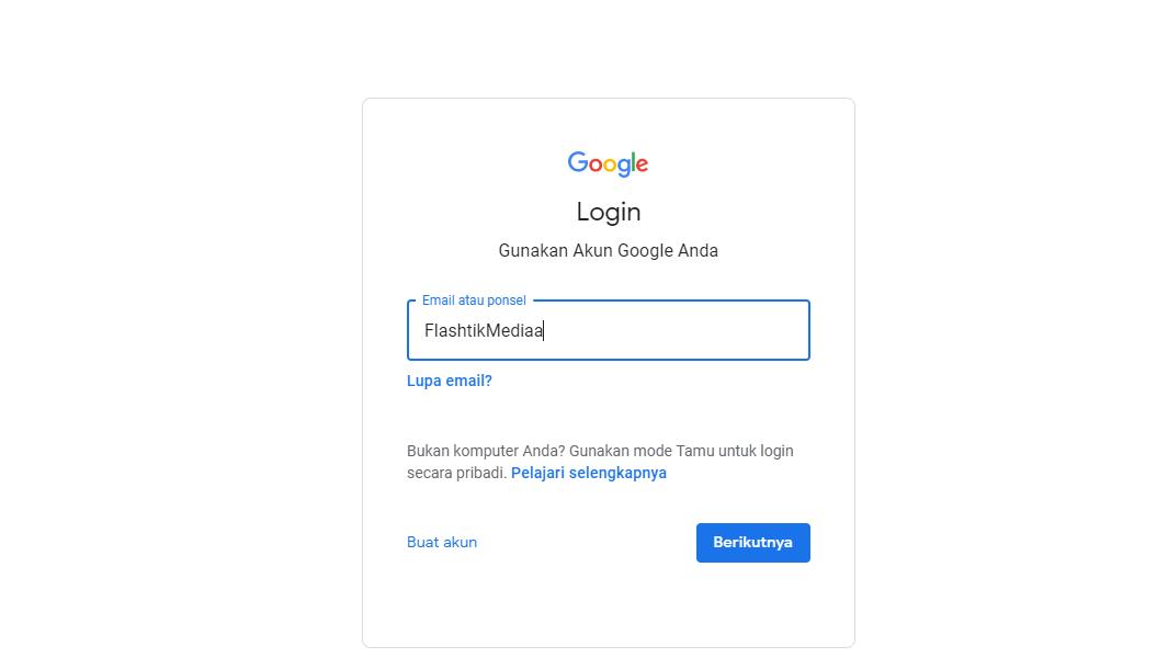 Cara lacak hp xiaomi dengan akun email gmail
