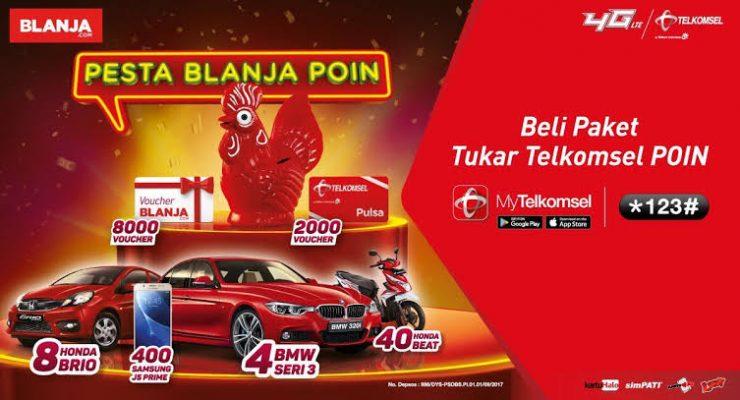 Telkomsel Poin Berhadiah Smartphone