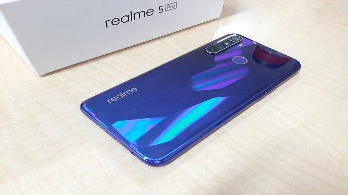 Hp Oppo Realme 5 Murah dua jutaan