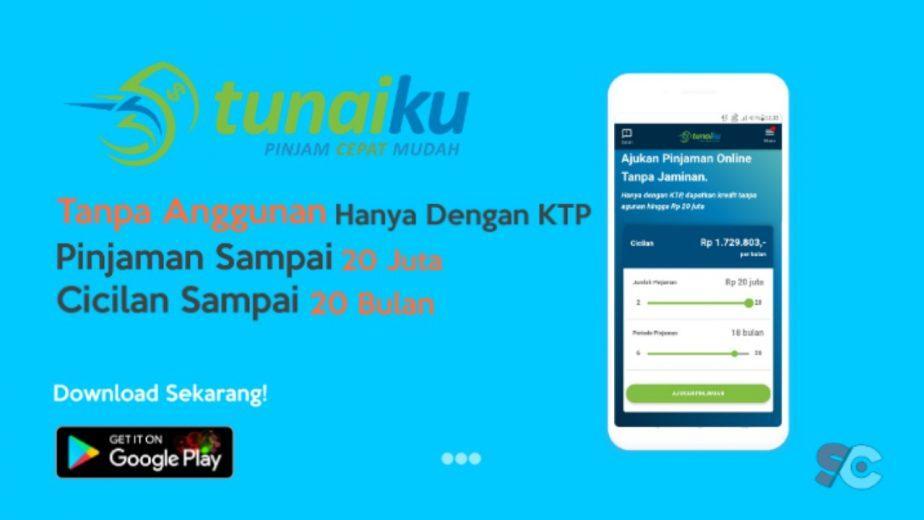 aplikasi pinjaman Tunaiku