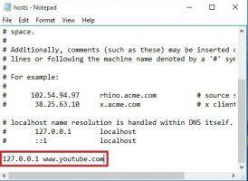 Edit file host youtube