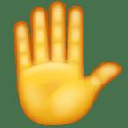 Mengangkat tangan