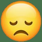 wajah penuh kecewa