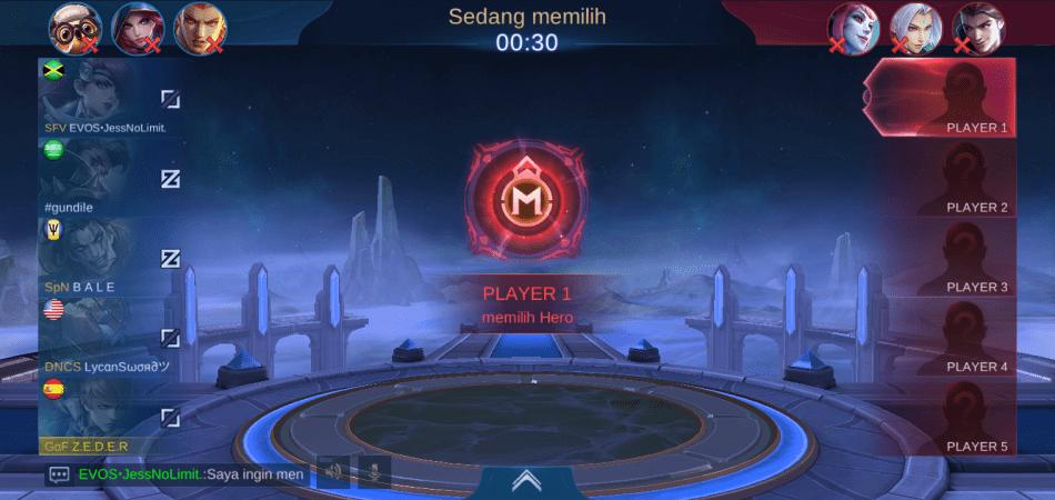 Ban hero mobile legends