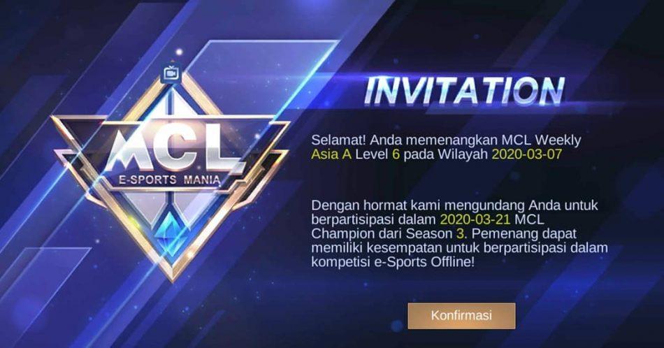 Undangan MCL