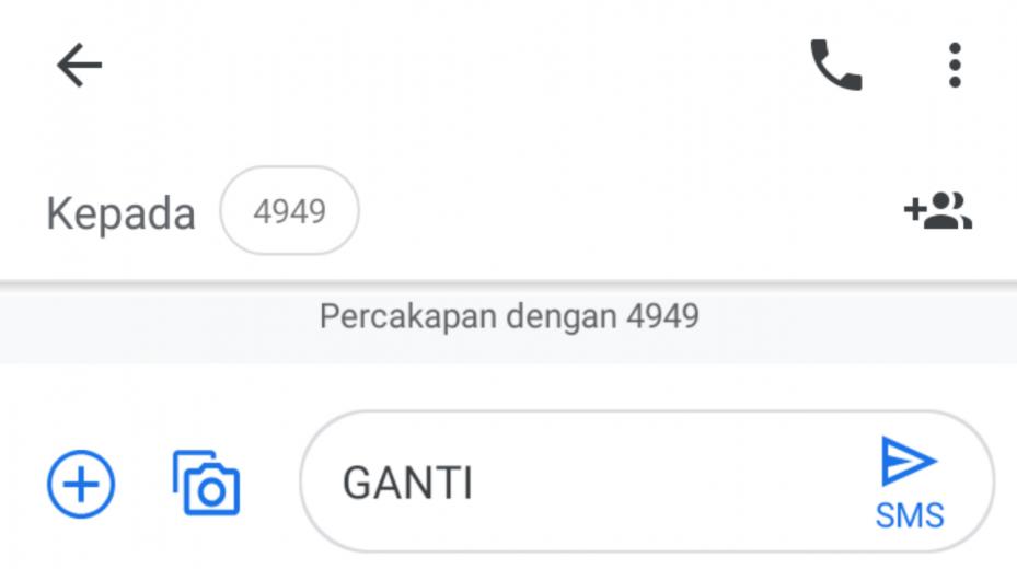 SMS Registrasi Indosat
