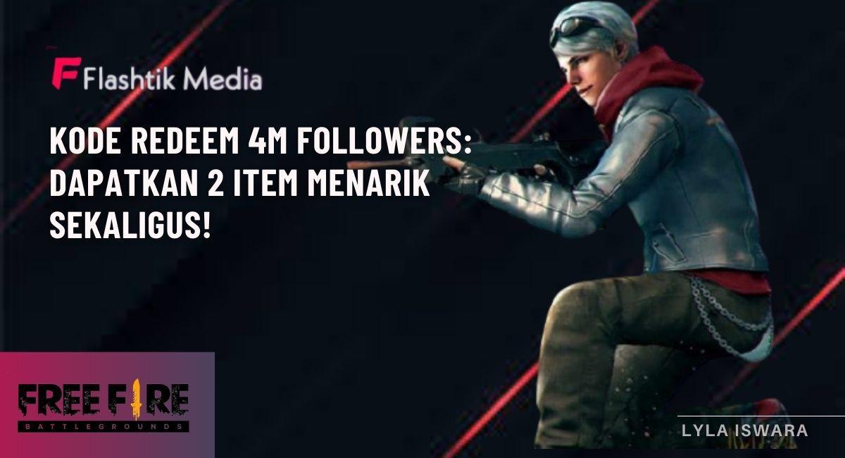 Kode Redeem 4m Followers