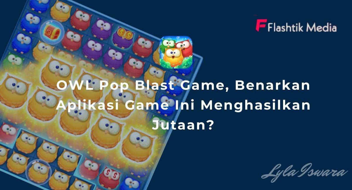 OWL Pop Blast Game