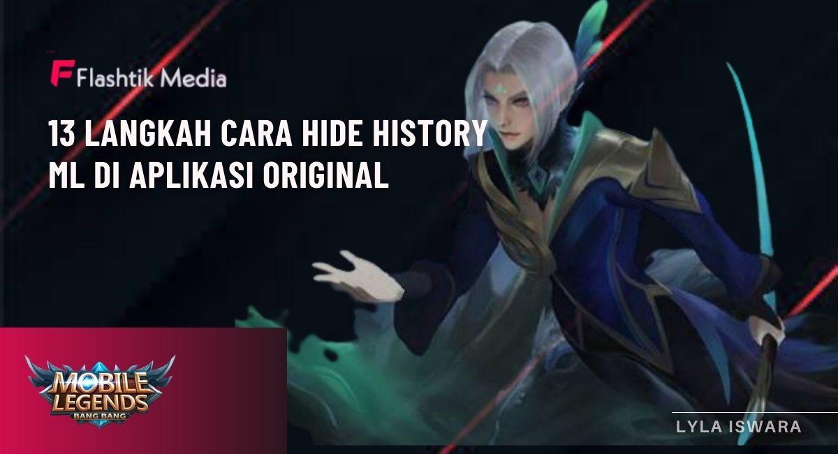 cara hide history ml
